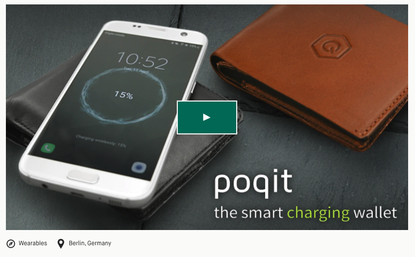 poqit.berlin Kickstarter Campaign, a not so great example of product market fit