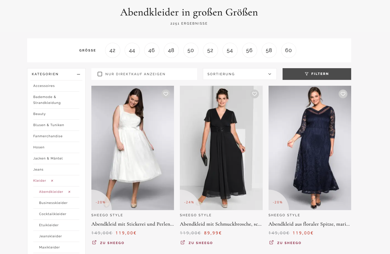 WuCu Evening Wear, a great example of startup product market fit