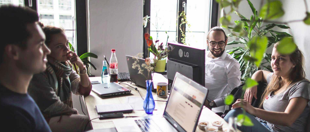 A glimpse into the Basislager Coworking Space in Leipzig. (Photo courtesy of basislager.co)